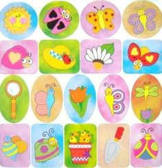 Rainbow Creations Children's Summer Themed Stickers -700