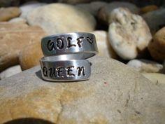 "Golf woman ""trophie"" GOLF QUEEN designet by www.birdiecountry.com Golf Trophies, Ladies Golf, Rings For Men, Queen, Woman, Jewelry, Men Rings, Jewlery, Jewels"