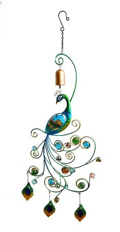 Amazon.com : Continental Art Center CAC12454 2 Peacock Wall Decor, 11.02 by 1.38 by 30.71-Inch : Patio, Lawn & Garden