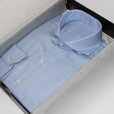 chemise homme, chemise business, chemise coton, chemise non iron, chemise infroissable, chemise col italien très ouvert, chemise sans gorge, chemise col rigide