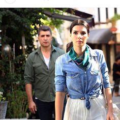 Hatice Sendil, Hot Actors, Turkish Actors, Series Movies, Drama, Actresses, Denim, Stars, Retro