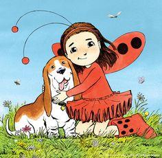 Ladybug Girl — Andrew Grey Illustrator