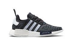 adidas Originals NMD R1 Midnight Grey Sneakers Running Shoes Footwear - 3767865