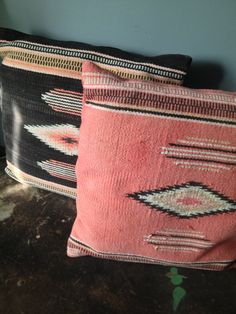 VIntage Southwestern Decorative Pillows Set of by ZassysTreasures, $50.00  hahahaha! We'll sew