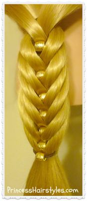 Fancy Fishtail Braid Kit, Video Tutorial