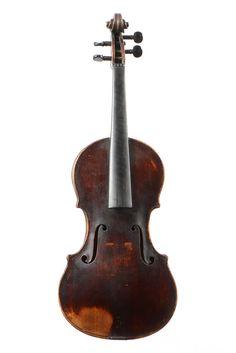 Violon Français Anonyme  Intéressant violon fait vers 1800. Probablement fait à Lyon. 356 mm.  Estimation : 1 800 € - 2 000 €  6th june auction on www.apollium.fr