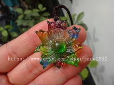 Free Shipping     genuine natural Colorful crystal by jade2090, $24.99