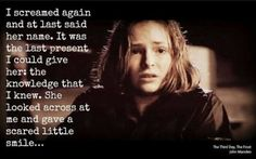 Tomorrow when the war began quote
