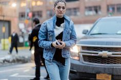 The Latest Street Style From New York Fashion Week via @WhoWhatWearAU