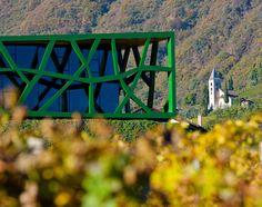 #cantina #cellar #winery Cantina Tramin - Termeno(BZ) - Design: Werner Tscholl