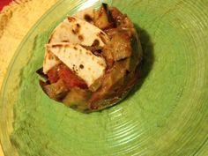 Parmigiana scomposta di melanzane e pizza scima | L'Abruzzo è servito | Quotidiano di ricette e notizie d'Abruzzo