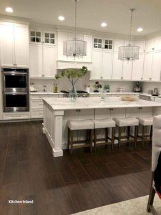 New Kitchen Island Decoration #kitchenisland