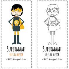 Marcapáginas para regalar el Día del Madre. Puedes descargarlo gratis en: http://dibujos-para-colorear.euroresidentes.com/2013/04/marcapaginas-chulos-del-dia-de-la-madre.html