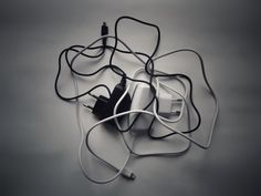 Jeffrey Earp, two chargers for mobile devices (our still life) on ArtStack #jeffrey-earp #art