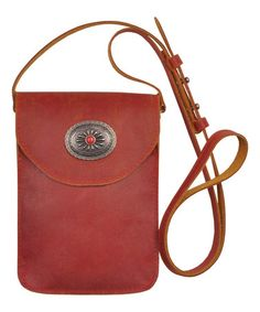Love this Red Nalani Leather Mini Crossbody on #zulily! #zulilyfinds