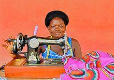 Seamstress, Ghana