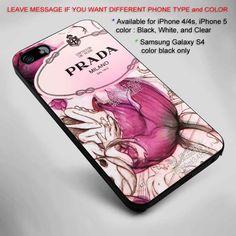 Prada Milano parfum box iPhone 5 BLACK case