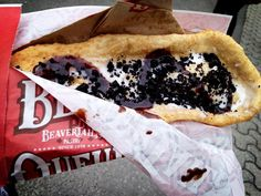 Here's a photo to brighten your Monday morning! Mmmm, Coco Vanil' BeaverTails pastry :)