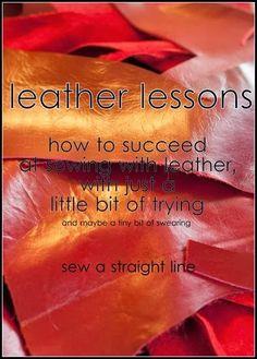 Hoe leer naaien.