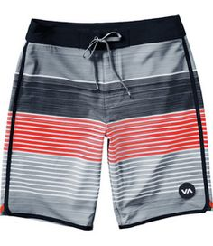 RVCA Boardshorts Sunday Stripe 19 Bermudas Shorts, T Shorts, Surf Shorts, Mens Swim Shorts, Billabong, Satin Underwear, Boxer Pants, Streetwear Shorts, Men's Swimsuits