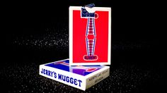 Jerry's Nuggets, the most sought after deck of cards in the world. Single decks have sold for hundreds of dollars.