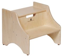 c124dd62a40 2-Step Manufactured Wood Children s Step Stool 2 Step