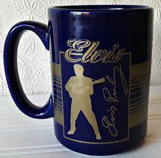 Personalised Gift Elvis Presley Mug Money Box Cup Fun Novelty Penguin Cartoon
