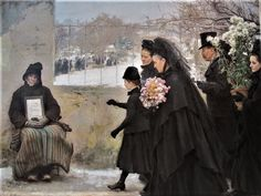 Ημέρα Αγίων Πάντων (1886) Μουσείο Καλών Τεχνών στην πόλη Νανσύ της Γαλλίας