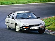 Citroen CX GTI Turbo cornering hard