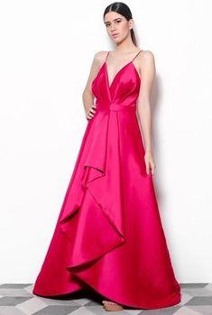 150c13864f vestido de festa pink Moda Fashion, Pink Color, Beautiful Outfits, Look,  Brides