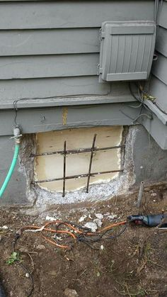 Patching a foundation