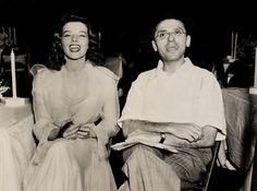 Katharine Hepburn and George Cukor