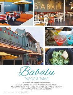 Babalu Overton Square Memphis Tennessee Clippedonissuu From September 2017 Bluff City