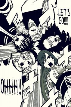 Tags: Anime, Scan, FAIRY TAIL, Gray Fullbuster, Erza Scarlet