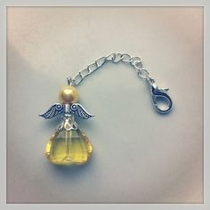Angel charm - available in other colours! Clip to your keys, phone, hairpins, or anywhere you feel you need a guardian angel! www.thecrystalden.com Hair Pins, Keys, How Are You Feeling, Charmed, Angel, Colours, Drop Earrings, Jewellery, Phone