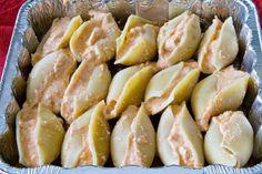 Buffalo chicken stuffed shells oh my goodness