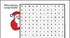 Christmas Games, Christmas Stuff, Activities For Kids, Have Fun, Words, School, Christmas Things, Schools, Kid Activities