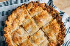 Wide Lattice Peach Pie with Tarragon Butter Recipe on Food52 recipe on Food52