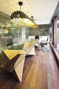 Office Design: Craft & Industrial Sleekness : Inside Outside Magazine