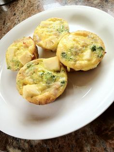 Mm..that touch of laughing cow cheese makes these healthy egg muffins sound extra appealing!