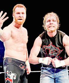 Dean Ambrose and Sami Zayn
