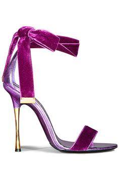 Tom Ford  Velvet Heels