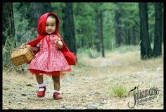 Chapeuzinho Vermelho Fantasia Bebê