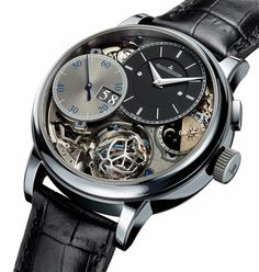 Jaeger-LeCoultre Master Grande Tradition Gyrotourbillon 3 for the Hybris Artistica Collection