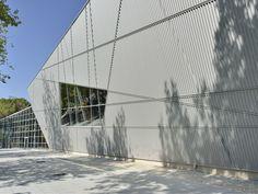 OND-ALL 33 - Alubel, Lastra ondulata per il rivestimento di facciate di edifici civili e industriali