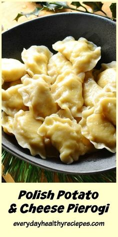 Polish potato and cheese pierogi (ruskie) recipe is a classic Polish dish, popular all year round accompanying celebrations and family gatherings. It's also one of the traditional dishes served on Christmas Eve in parts of Poland. Potato Dishes, Potato Recipes, New Recipes, Vegetarian Recipes, Cooking Recipes, Healthy Recipes, Slovak Recipes, Cheese And Potato Pierogi Recipe, Polish Pierogi Dough Recipe