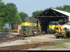 RailPictures.Net Photo: MB 506 Meridian & Bigbee EMD GP38 at Meridian, Mississippi by Andrew Blaszczyk (2)