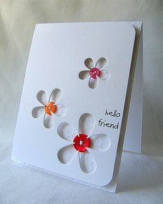 Hello Friend Card - Let's get it on the RIGHT board  :-)