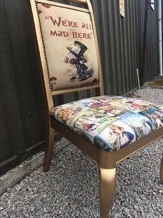 Alice in Wonderland chair / Alice in Wonderland furniture /