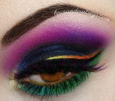 Muse Resistance Makeup. www.bowsandcurtseys.com